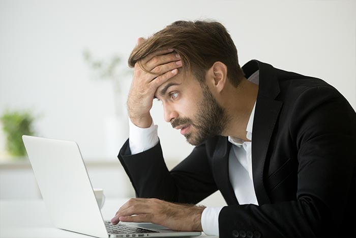 Worry after finding out you have been hacked